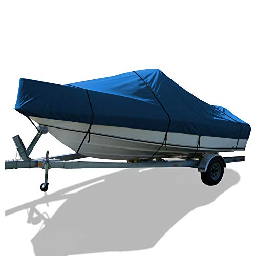 (SavvyCraft Whaler Style Trailerable Boat Storage Cover (Blue, 17'.6