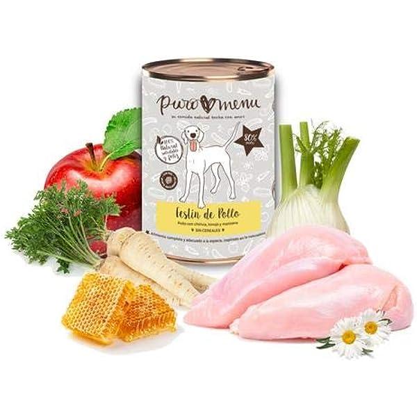Comida húmeda para Perros (12x400g) | con 80% de Carne de ...