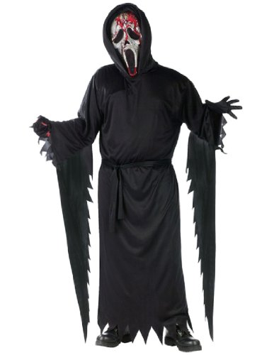 Bleeding Zombie Ghost Face Child Costume - Large (Ghost Face Child Costume)