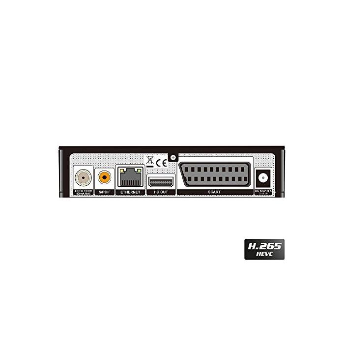41j29YoWebL Haz clic aquí para comprobar si este producto es compatible con tu modelo Full HD receptor de satélite (DVB-S2) libre para todos canales digitales de radio & programas TV La Piccollino le ofrece conmutación rápida, Full HD y LAN