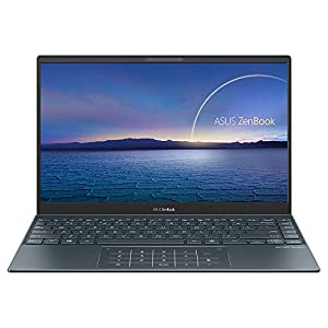 ASUS ZenBook 13 UX325EA Full HD 13.3″ Laptop (Intel i5-1135G7, 8GB RAM, 512GB PCIe SSD, 32GB Intel Optane Memory, Windows 10) Includes LED NumberPad & Sleeve