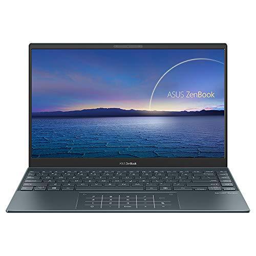 ASUS ZenBook UX325JA 13.3 Inch IPS Full HD Laptop (Intel i7-1065G7, 16 GB RAM, 512 GB SSD, 32 GB Intel Optane Memory, Backlit Keyboard, Windows 10) Includes Sleeve and USB-C Dongle