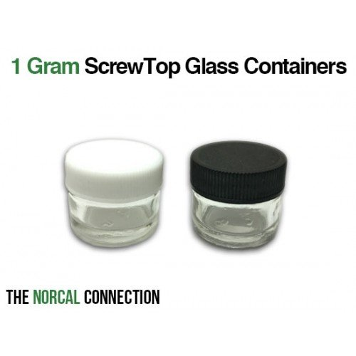 The Norcal Connection 5ml Screwtop Glass Container, 10000 Count by The Norcal Connection (Image #1)