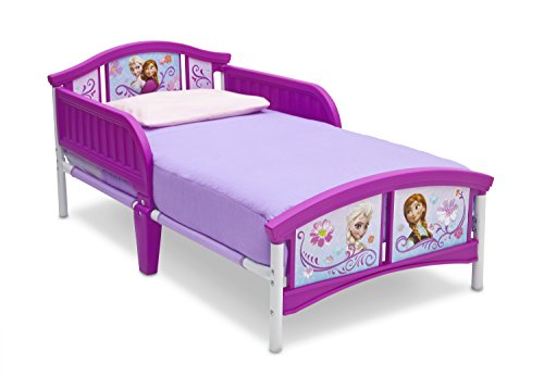 Delta Children Plastic Toddler Bed, Disney Frozen (For Girls Kid Beds)