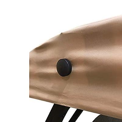 Garden Winds Replacement Canopy Top Cover for The GT Wicker Swing - Riplock 350 : Garden & Outdoor