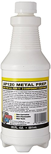 Metal Prep Paint (POR-15 40020 AP-120 Metal Prep - 20 fl. oz.)