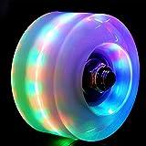 Roller Skate Wheels Outdoor Light Up LED Quad