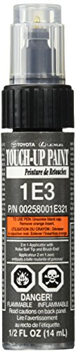 Charcoal Dark Metallic Paint - Genuine Toyota 00258-001E3-21 Charcoal Metallic Touch-Up Paint Pen (.44 fl oz, 14 ml)