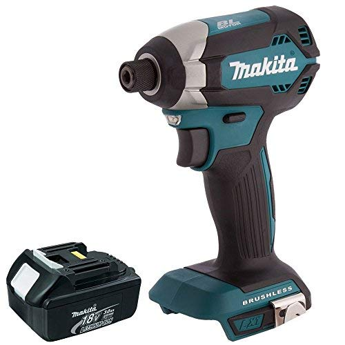 Makita BL1830 DTD153Z 18V Brushless Impact Driver with 1 x 3.0Ah Battery DTD153Z + BL1830