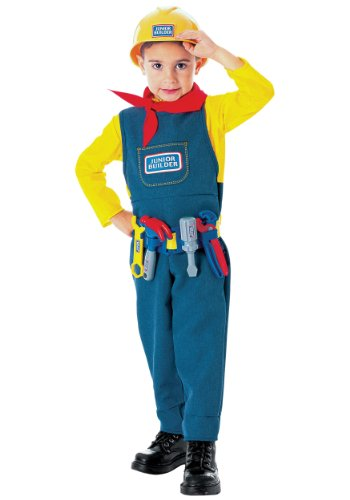 Bob The Builder Costume (Junior Builder Toddler Costume - Toddler)