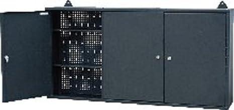 3 soporte de pared para colgar tamaño grande para puerta de garaje caja de herramientas armario cajonera para METAL: Amazon.es: Bricolaje y herramientas