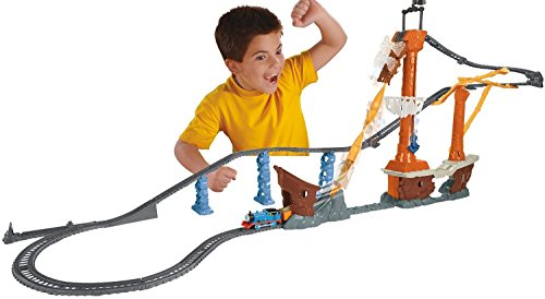 Fisher-Price Thomas the Train TrackMaster Shipwreck Rails Set
