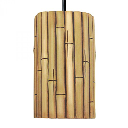 Nature Bamboo Ceramic Pendant by A-Lighting