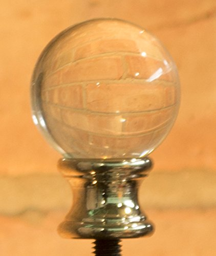 Urbanest Crystal Ball Lamp Finial, 1-5/8-inch Tall - - Amazon.com