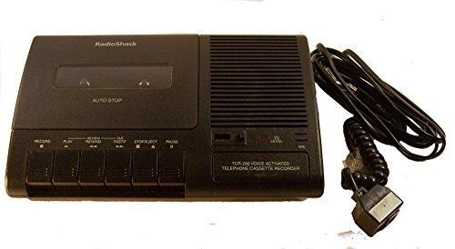 Radio Shack Telephone Cassette Recorder - Voice Activated