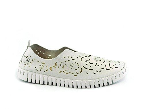 forate Slip Orfeo Scarpe Original Bianco on Shoes SKA Donna Vegan WTB4Y7YR