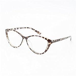 EyeBuyExpress Women Designer Glasses Cat Eye Reading Glasses Reader Cheaters Tortoise