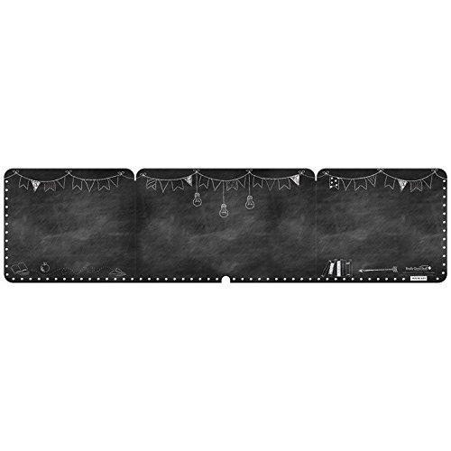 Really Good Stuff Privacy Shields Chalkboard Black