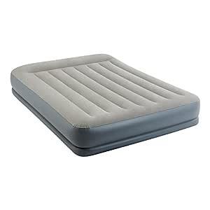 Intex 64118 - Colchón hinchable Dura-Beam Standard Pillow Rest Midrise 152 x 203 x 30 cm