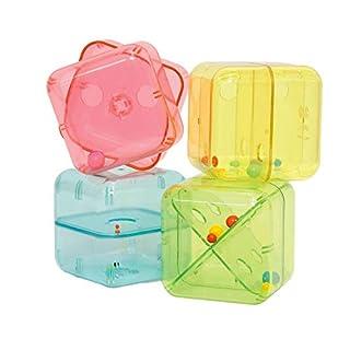 Edushape Curiosity Cubes Baby Toy