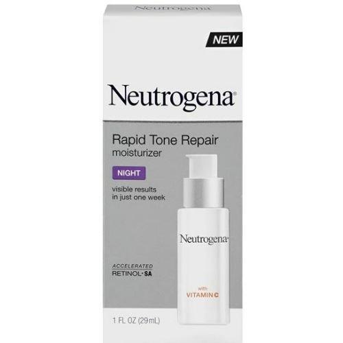 Neutrogena Rapid Tone Repair Night Moisturizer, 1 Fluid Ounce - 12 per case.