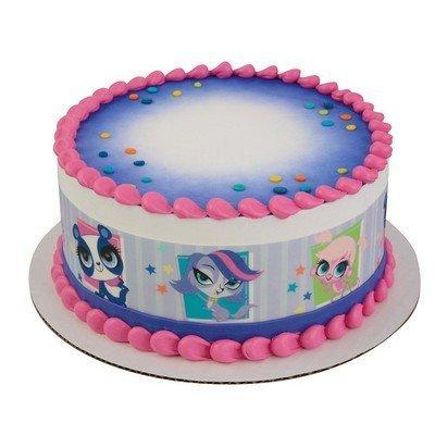 Littlest Pet Shop Strips Licensed Edible Cake Topper #58162 ()