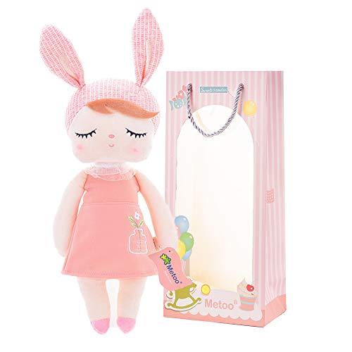- Me Too Baby Girl Gifts Baby Dolls Bunny Super Soft Plush Rabbit Toys 13