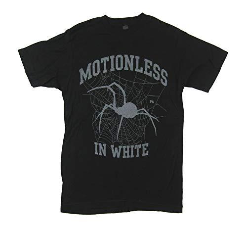 (Motionless In White Spider Black T Shirt (M))