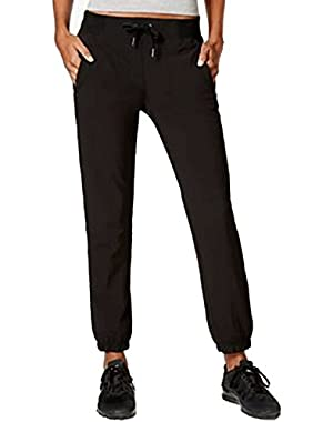 Performance Women's Banded Polyester Ankle Pants