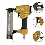 Pneumatic Nailer Gun Stapler Straight Crown Nail Tacker Air Tool for Leather, Sofa Fabric, Seat and Joinery Decoration