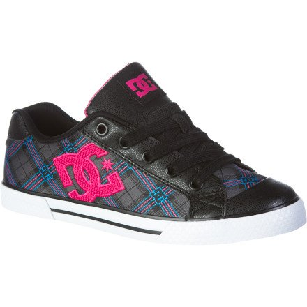 DC Women's Chelsea Se Skate Shoe B004WHRDH0 10 B(M) US|White/Black Stripe