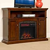 Cheap ChimneyFree Lynwood Electric Fireplace Entertainment Center in Vintage Cherry – 18MM4105-C233