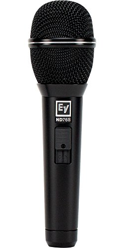 Electro-Voice ND76S Dynamic Cardioid Vocal Microphone with On/Off Switch by Bosch