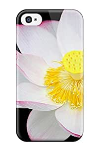 Anti-scratch And Shatterproof Flower Phone Case For Iphone 4/4s/ High Quality Tpu Case