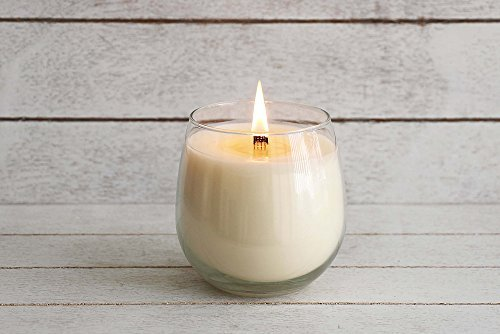 Biscotti - Organic Aromatherapy Scented Candle 100% Certified Plant Based Essential Oils Vanilla Bean, Nutmeg, Cinnamon infused in Organic Coconut Wax in reusable Glass, Vegan, Non-GMO (16 oz) by Sanari Plant Based Candle (Image #2)