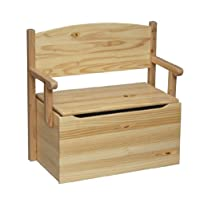 Little Colorado Bench Toy Box-Unfinished