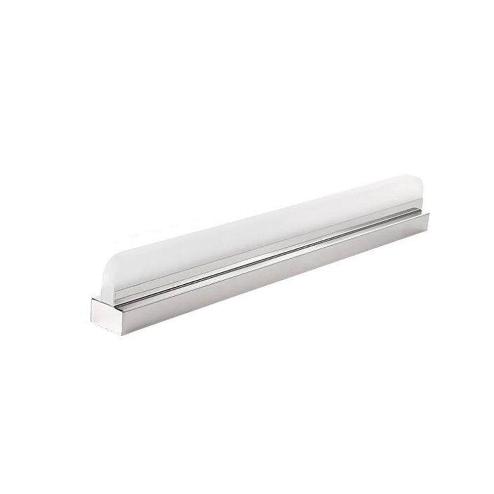 WYYY Spiegellicht Edelstahl + Acryl 12-20W Highlight-LED Warmes Licht Wasserdicht Umweltschutz Badezimmer Toilette 52cm   62cm   72cm   92cm ( Größe   52cm )