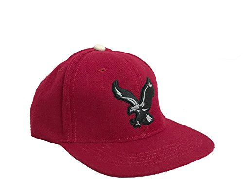 American Eagle Outfitter Red w/ Grey Eagle On Front Snapback Baseball Cap