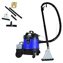 Pyle PUCVWD43 Pure Clean - Wet Dry Vacuum Heavy Duty Shop Vac - Carpet Cleaner - Professional Grade Carpet Cleaner - Capacity 5.3 Gallons