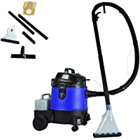 Pure Clean - Wet Dry Vacuum - Heavy Duty Vac + Carpet Cleaner - Professional Grade Carpet Cleaner - Capacity 5.3 Gallons (PUCVWD43)