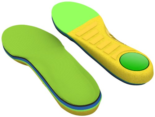 (Spenco Kids Polysorb Premium Orthotic Arch Support Shoe Insoles for Children, Youth 5-6)