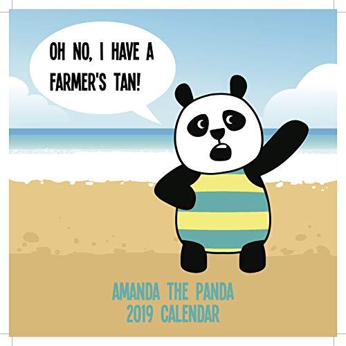 Amanda The Panda 2019 Wall Calendar