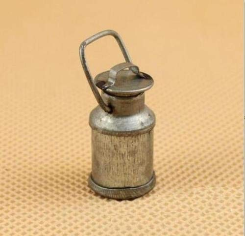 Brosco 1:12 Scale Vintage Tin Kettle Dollhouse Miniature Re-Ment Doll Home Scene Gift ☆ ()