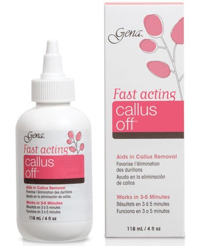 Gena Fast Acting Callus Off Remover 4 oz