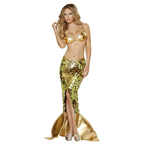 [Sultry Sea Siren Costume - Medium - Dress Size 6] (Sea Siren Sexy Costumes)