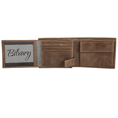 Bugatti Brown Cognac Card 12 cm Compartments Pouch with 12 Coin Purse Volo rwPqxganrv