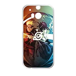 HTC One M8 White phone case naruto shippuden Christmas gifts for boys and girls OPC3323432