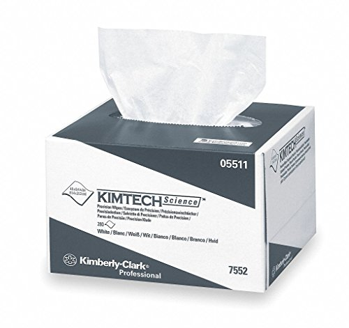Kimberly Clark Safety 5511 KIMTECH Science Precision Wipes Tissue Wipers, 4.4