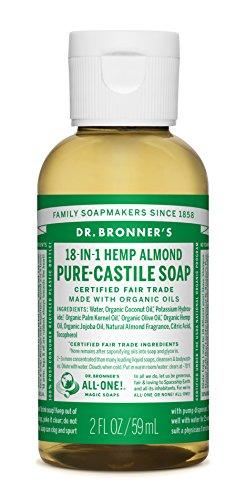 Bronners Almond (Dr. Bronner's Fair Trade & Organic Castile Liquid Soap - (Almond, 2 oz))