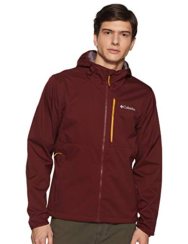 Columbia Men's Mystic Trail Jacket, Tapestry,X-Large (Red Jacket Mystic)